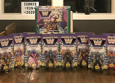 $279.99 • Buy 2019 Mattel Masters Of The WWE Universe Waves 2, & 3 With Ring He-Man MOTU