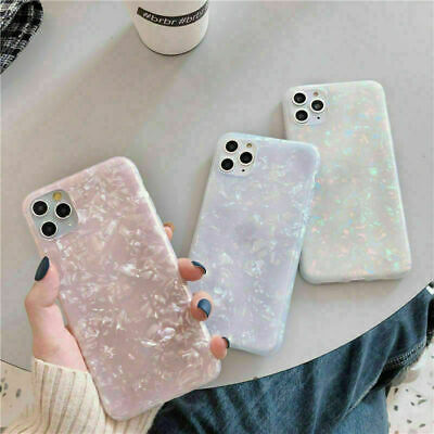 AU8.99 • Buy Case For IPhone 11 8 7 Plus Pro MAX XR SE ShockProof Marble Phone Silicone Cover