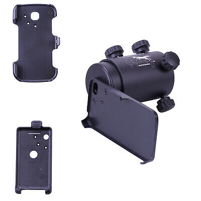 IScope Smartphone Rifle Scope Adapter Complete Kit For Iphone 4 3GS S2 Android 2 • 25.19£