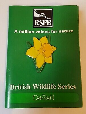 Daffodil - Trifold - A Million Voices For Nature Rspb - Enamel Pin Badge #1 • 13.90£