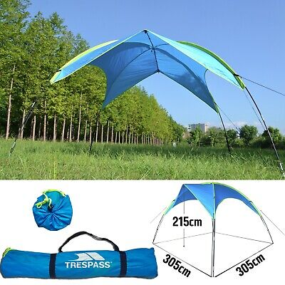 Trespass UV50+ Mini Portable Event Shelter Picnic Sun Shade Park Festival Gazebo • 44.95£