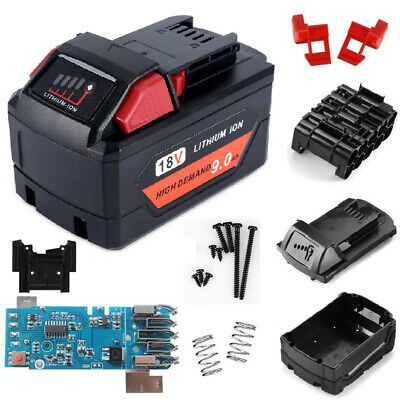 For Milwaukee M18 10 Core Replacement 18V 3/6/9Ah Battery Cover Chip PCB Board • 16.67£