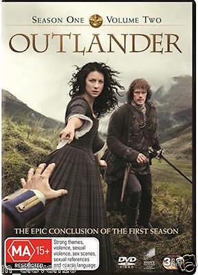 AU15.25 • Buy OUTLANDER Season 1 Part 2 : NEW DVD