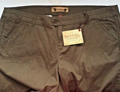 $16.95 • Buy Womens  FreeStyle Revolution  Stretch Casual.Pants. Green. Sz 24