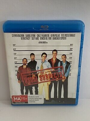AU10 • Buy The Usual Suspects Blu Ray - Kevin Spacey, Gabriel Byrne Free Post