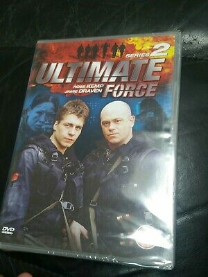 Ultimate Force Series 2 Dvd Ross Kemp Sealed • 5£