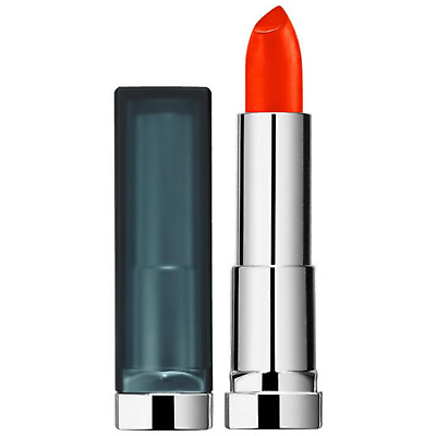 Maybelline Craving Coral Matte Lipstick #955 Color Sensational Flame Red Shade • 4.13£