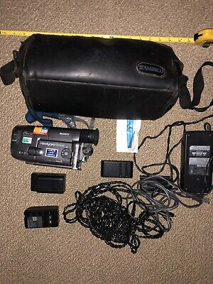 $ CDN334.42 • Buy SONY Handycam CCD-TRV22 8mm Video8 Camcorder VCR Player Video BAG BUNDLE EXTRAS