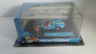 Michel Vaillant Le Mans '61 #3 1/43 IXO Altaya Diecast With Figure And Flag • 9£
