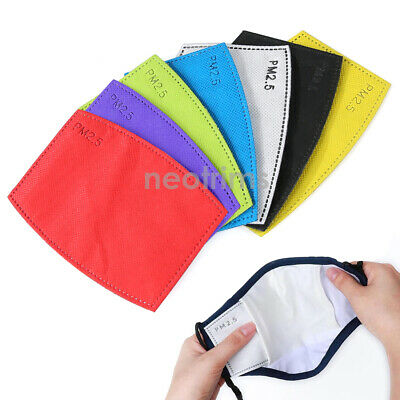 $ CDN10.50 • Buy Filter PM2.5 For Face Mask,5 Layers,Activated Carbon,6 Colors,Neotrims UK
