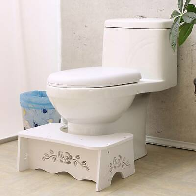 Portable Toilet Squatty Step Stool Potty Squat Aid Chair Kids Bathroom Platform • 11.99£
