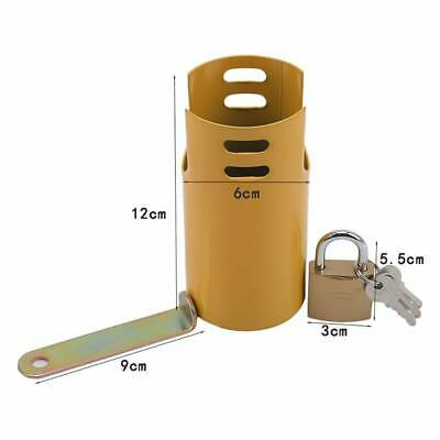 Outdoor Anti-theft Sink Faucet Lock Key Accessories Water Household Tap Padlock • 8.93£