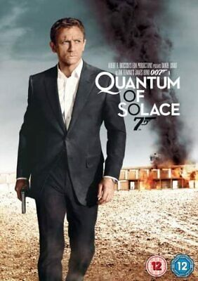 James Bond 007: Quantum Of Solace [DVD] - Movie/Film - Daniel Craig - Brand New • 3.99£