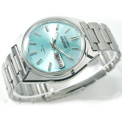 $ CDN666.69 • Buy Vintage SEIKO 5 Actus R Automatic Day Date 21 Jewels SR Sky Blue Dial Mens Watch