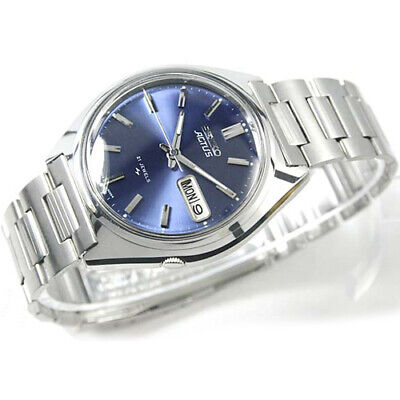 $ CDN666.69 • Buy Vintage SEIKO 5 Actus R Automatic Day Date 21 Jewels SR Blue Dial Mens Watch