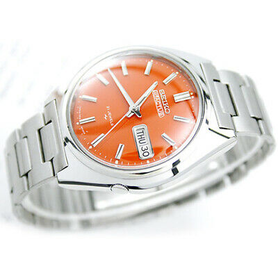 $ CDN666.69 • Buy Vintage SEIKO 5 Actus R Automatic Day Date 21 Jewels G Orange Dial Mens Watch