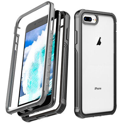 AU13.99 • Buy For IPhone Xs Max XR X 6/6s/7/8Plus Dustproof Shatter-resistant 3 In 1 Case