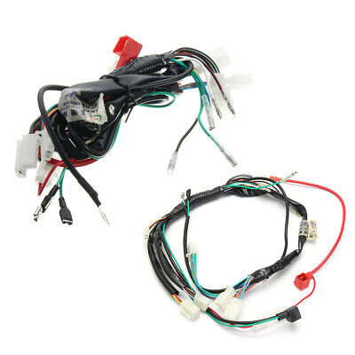 $14.29 • Buy Motorcycles Electric Start Wiring Harness Connector For Yamaha Suzuki  Kawasaki