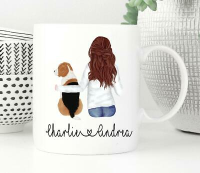 Custom Personalized Pet Mug Beagle Gifts Beagle Mom Mug Dog Lover Gift Beagle • 12.43£
