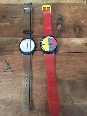 $ CDN25 • Buy Lot Of 2 Non Working Swatch Watches