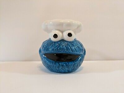 £12.93 • Buy Rare 1993 Cookie Monster Coffee Mug Jim Henson Productions 3D Eyes & Mouth Blue