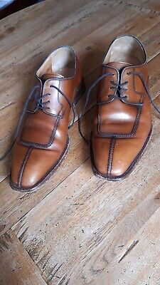 Moreschi Leather Shoes UK Size 7 • 39.20£