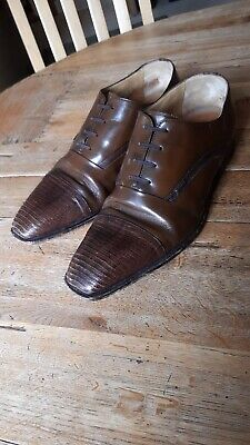 Moreschi Mens Leather Shoes UK Size 8 • 60£