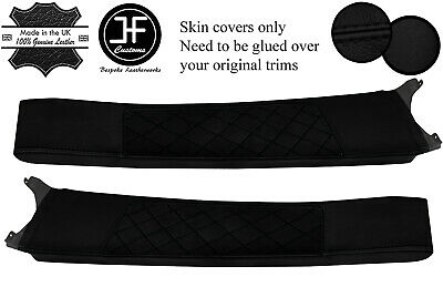 $ CDN325.52 • Buy Black Diamond Stitch Door Sill Lthr+luxe Suede Covers For Lotus Elise S2 01-06