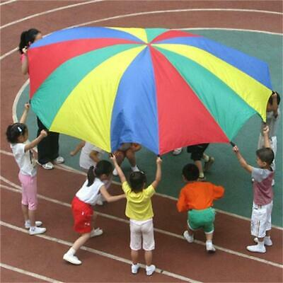Kids Play Parachute Children Rainbow Large Outdoor Game Exercise Sport Toy SH • 8.50£