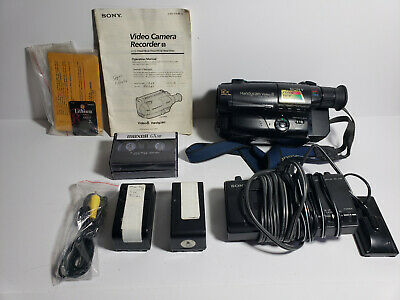 $ CDN267.16 • Buy Sony Handycam CCD-TR64 8mm Video8 Camcorder VCR Player Camera Video Transfer