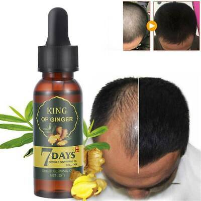 AU9.99 • Buy Fast ReGrow 7 Day Ginger Germinal Serum Essence Oil Loss Treatment Growth Hair