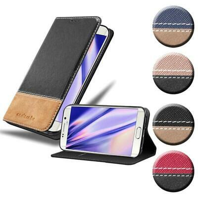 $ CDN12.22 • Buy Case For Samsung Galaxy S6 EDGE PLUS Phone Cover PU Leather Combi X Wallet Book