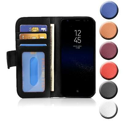 $ CDN12.22 • Buy Case For Samsung Galaxy S8 Phone Cover With Card Slots Wallet Book