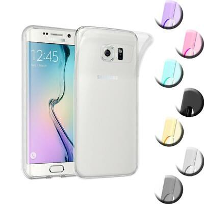 $ CDN8.88 • Buy Silicone Case For Samsung Galaxy S6 EDGE PLUS Shock Proof Cover Ultra Slim TPU G