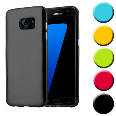 $ CDN8.88 • Buy Silicone Case For Samsung Galaxy S7 EDGE Shock Proof Cover Jelly TPU Bumper