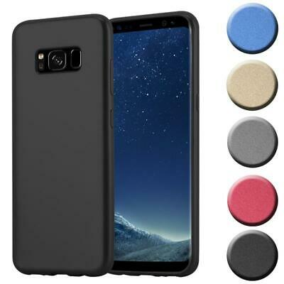 $ CDN8.88 • Buy Silicone Case For Samsung Galaxy S8 Shock Proof Cover Mat Metallic TPU