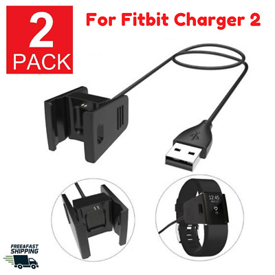 $ CDN8.32 • Buy 2Pc Charger For FITBIT CHARGE 2 USB Charging Cable Activity Wristband Cord Wire