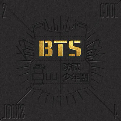 BTS Single Album [2 Cool 4 Skool] KPOP Music BANGTAN BOYS CD + Photobook + Gift • 15.50£