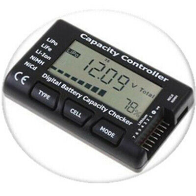 £5.50 • Buy RC LCD Battery Capacity Voltage Checker Controller Tester For RC LiPo Battery 1x