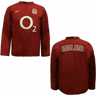 Nike England Rugby Mens Coaches Drill Top Windbreaker Jacket 436957 677 • 19.99£