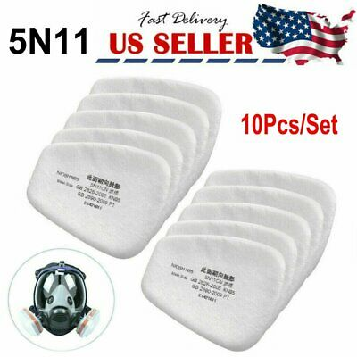 $ CDN29.25 • Buy 20Pcs 5N11 Cotton Filter Replacement Filters For 6200 6800 7502 Respirators