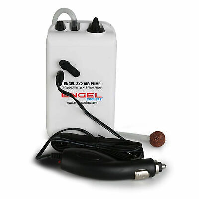 $29.99 • Buy Engel Coolers ENG-AP Portable Live Bait 2 Speed Aerator Pump With 12V Adapter