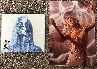 Ellie Goulding - Brightest Blue Album - Signed/autographed Photo And Cd • 14.99£
