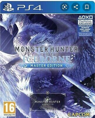 AU99 • Buy Monster Hunter World Iceborne Steelbook Edition Ps4 Brand New