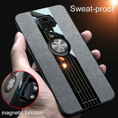$1.99 • Buy For Xiaomi Redmi Note9 8 7 Pro Magnetic Ring Holder Shockproof Fabric Case Cover