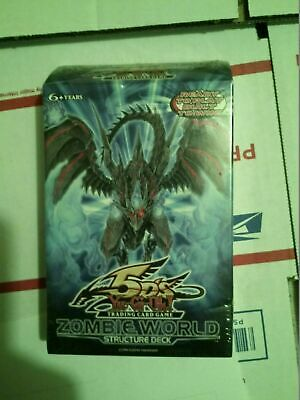 AU35.16 • Buy YuGiOh 5D's Zombie World English Structure Deck 1st Ed. English Factory Sealed
