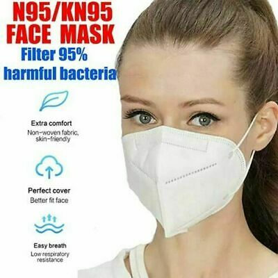 AU16.95 • Buy KN95 P2 Particulate Respirator Face Mask Anti Dust Protection Mouth Dust