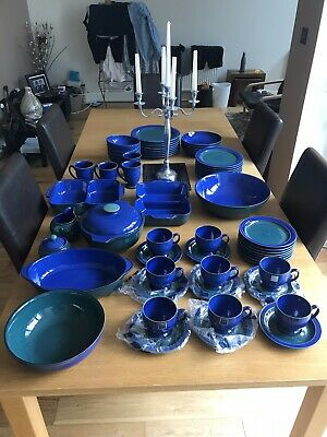 62 Piece Denby Metz Dinner Service. Excellent Condition Perfect. Will Seperate • 600£
