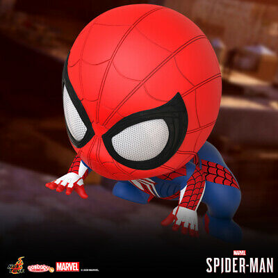 $ CDN44.49 • Buy Hot Toys Marvel Spider-Man (Advanced Suit) COSB769 Cosbaby Collectible OFFICIAL
