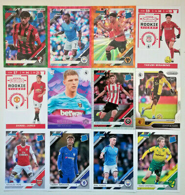 Chronicles Soccer 2019-20 Premier League INSERTS PRIZM ROOKIE TICKET ORANGE KING • 3.75£